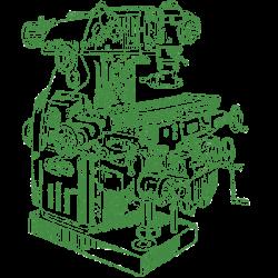 Станок токарный бесцентровый для обработки прутков сортового проката и труб 9А310Ф1
